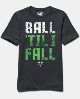 Boys' UA Ball 'Til I Fall T-Shirt