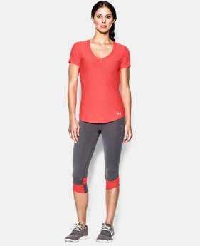 Women's UA Perfect Pace T-Shirt LIMITED TIME: FREE U.S. SHIPPING 3 Colors $20.99 to $25.99