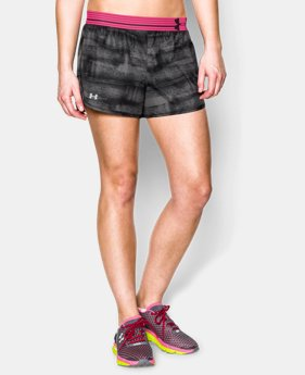 Women's UA Printed Perfect Pace Short