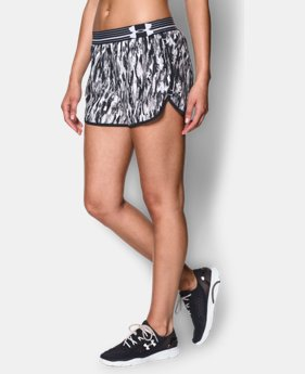 Women's UA Printed Perfect Pace Short  1 Color $15.74 to $25.99