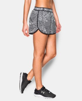 Women's UA Printed Perfect Pace Short  1 Color $19.99 to $26.99