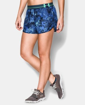 Women's UA Printed Perfect Pace Short LIMITED TIME: FREE U.S. SHIPPING 1 Color $25.99