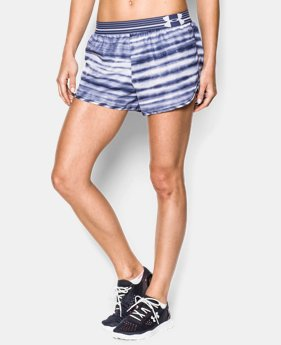 Women's UA Printed Perfect Pace Short LIMITED TIME: FREE U.S. SHIPPING 2 Colors $15.74 to $26.99