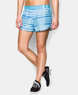 Women's UA Printed Perfect Pace Short LIMITED TIME: FREE U.S. SHIPPING 11 Colors $15.74 to $26.99