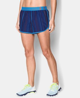 Women's UA Printed Perfect Pace Short  1 Color $14.99 to $26.99