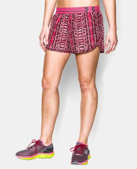 Women's UA Printed Perfect Pace Short   $19.99 to $26.99