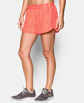 Women's UA Printed Perfect Pace Short  3 Colors $29.99