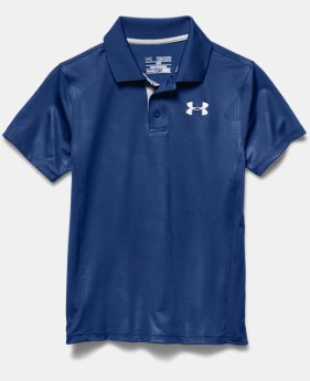 Boys' UA Match Play Printed Polo