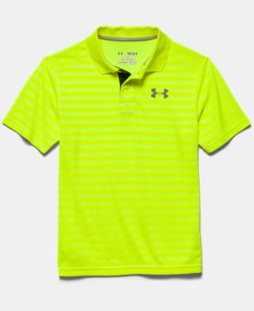 Boys' UA Classic Stripe Polo