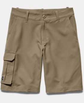 Boys' UA Utility Club Cargo Golf Shorts