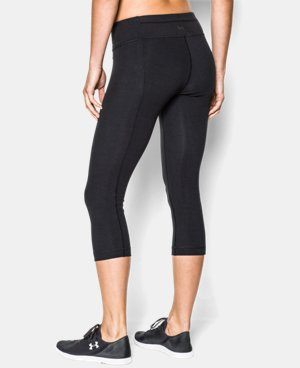 Women's UA Perfect Cotton Solid  Capri LIMITED TIME: FREE U.S. SHIPPING 1 Color $44.99