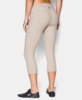 Women's UA Perfect Cotton Solid Capri