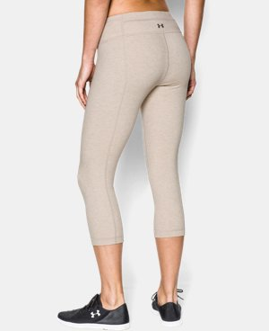 Women's UA Perfect Cotton Solid  Capri LIMITED TIME: FREE U.S. SHIPPING 1 Color $35.99