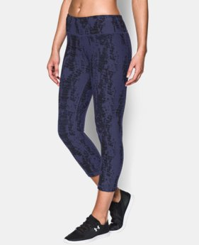 Women's UA Perfect Cotton Printed Capri  1 Color $38.99 to $48.99