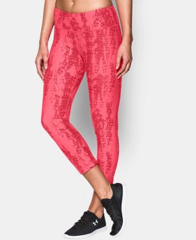Women's UA Perfect Cotton Printed Capri