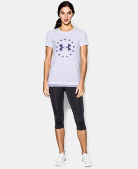 Women's UA Freedom W's T-Shirt LIMITED TIME: FREE U.S. SHIPPING 1 Color $14.99