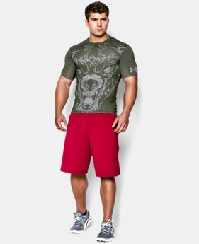 Men's UA 100% Beast Wolf Compression Shirt