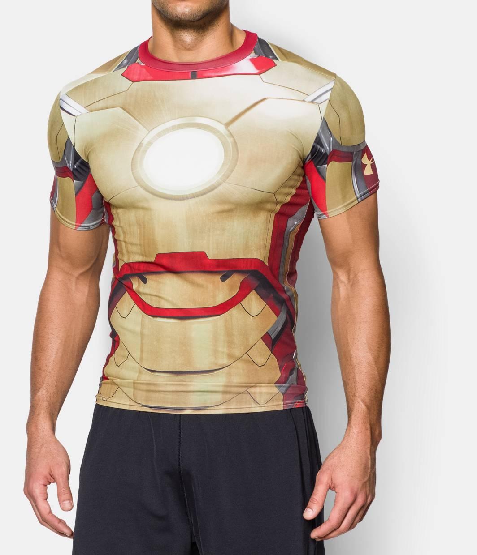 under armour iron man shirt