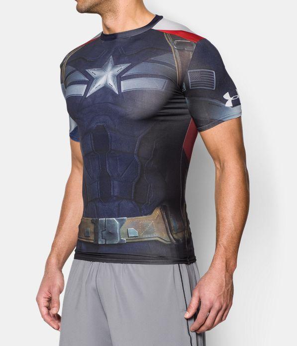 Men S Under Armour Alter Ego Captain America Compression