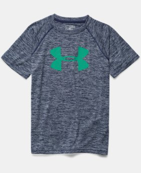 Boys' UA Tech™ Big Logo Printed T-Shirt