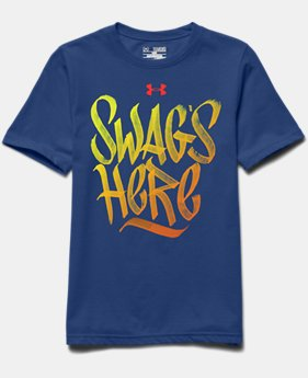 Boys' UA Swag's Here T-Shirt