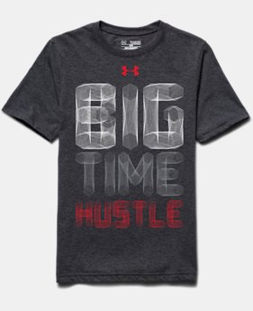 Boys' UA Big Time Hustle T-Shirt