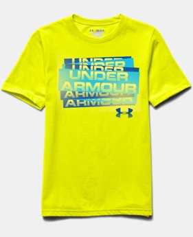 Boys' UA Scatter Script T-Shirt