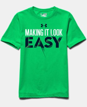 Boys' UA Make It Easy T-Shirt