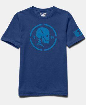 Boys' UA Combine® Training Skull T-Shirt
