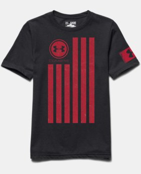 Boys' UA Combine® Training Flag T-Shirt