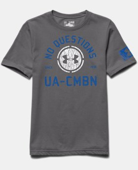 Boys' UA Combine® Training No Questions T-Shirt