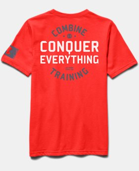 Boys' UA Combine® Training Conquer T-Shirt