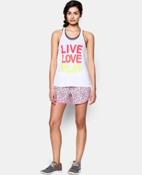Women's UA Live Love Play Tennis Tank  1 Color $18.99