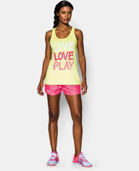 Women's UA Live Love Play Tennis Tank   $18.99