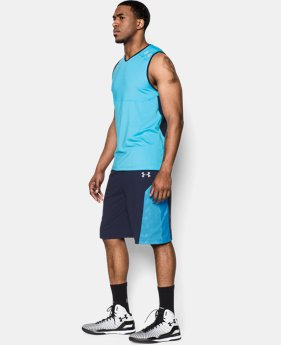 Men's UA ArmourVent™ Elevator Basketball Shorts