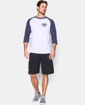Men's UA USA ¾ Sleeve T-Shirt
