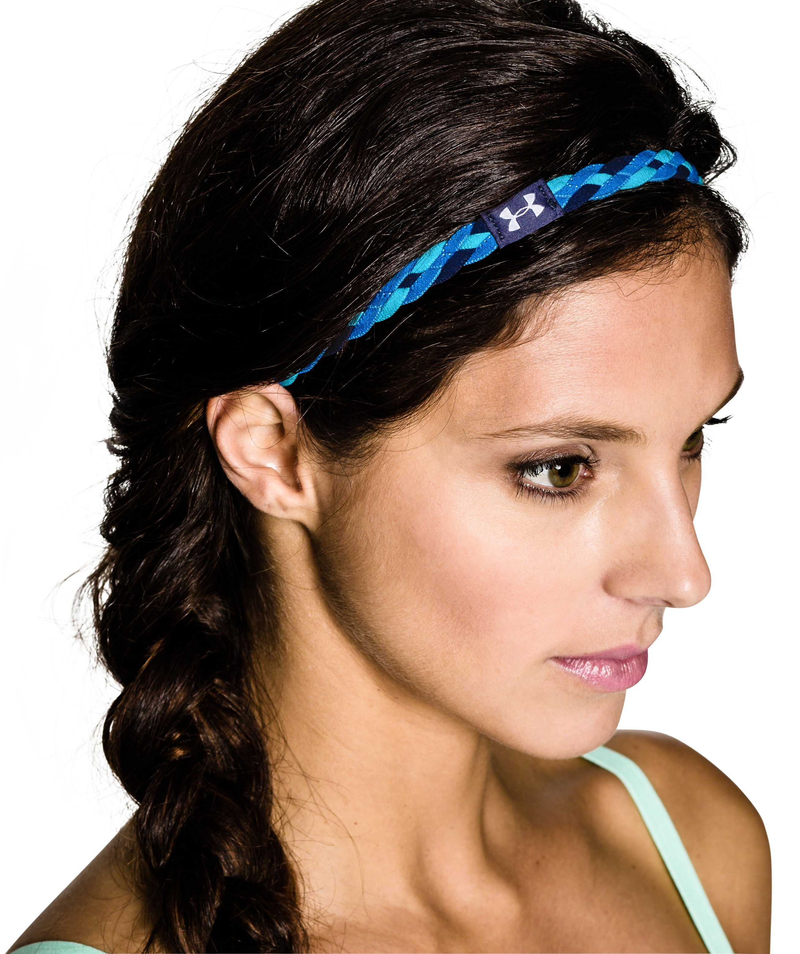 Women's UA Graphic Braided Headband - 4 Pack, AFTER BURN, undefined
