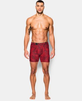 "Men's UA Original Series Printed 6"" Boxerjock®  2 Colors $15.99 to $18.99"