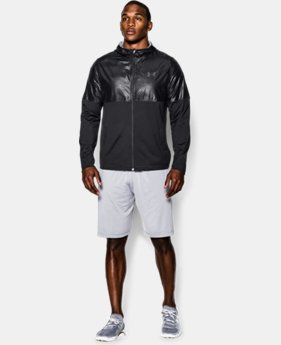 Men's UA Embossed Lightweight Warm-Up Jacket