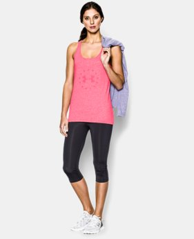 Women's UA Freedom Tri-Blend Tank LIMITED TIME: FREE U.S. SHIPPING 1 Color $17.99