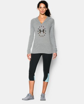 Women's UA Freedom Tri-Blend Hoody EXTRA 25% OFF ALREADY INCLUDED 1 Color $22.49 to $39.99