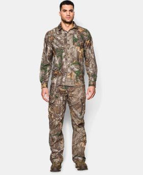 Men's UA Chesapeake Camo Long Sleeve Shirt  2 Colors $44.99
