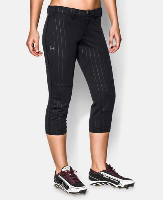 Women's UA Heater Embossed Pant  1 Color $22.49