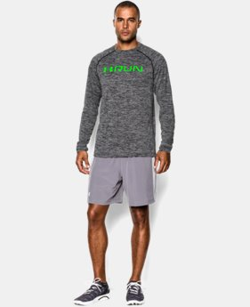 Men's UA Tech™ Run Long Sleeve T-Shirt