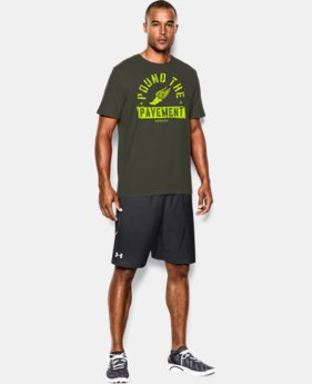 Men's UA Pound The Pavement T-Shirt  1 Color $17.99