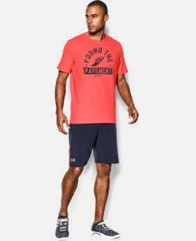 Men's UA Pound The Pavement T-Shirt