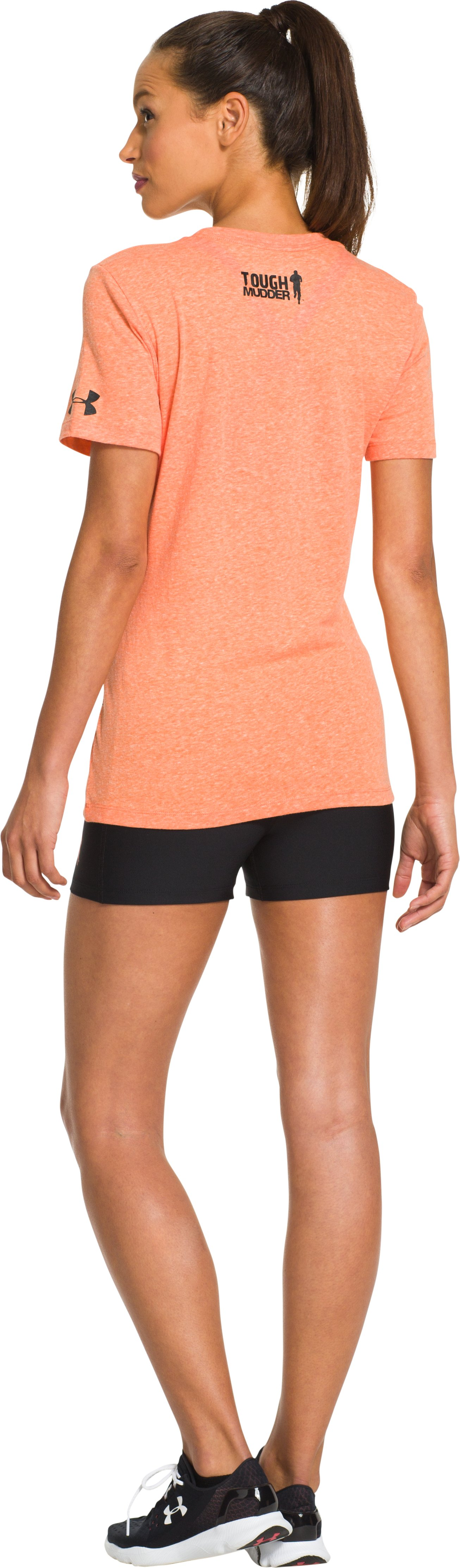 Women's UA Tough Mudder Graphic T-Shirt, Vivid, Back
