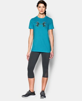Women's UA Antler Logo Tri-Blend T-Shirt  1 Color $22.99