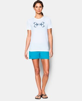 Women's UA Hook Logo Tri-Blend T-Shirt EXTRA 25% OFF ALREADY INCLUDED 1 Color $17.24