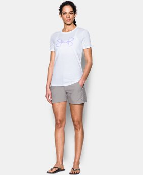 Women's UA Charged Cotton® Tri-Blend Hook T-Shirt  1 Color $24.99